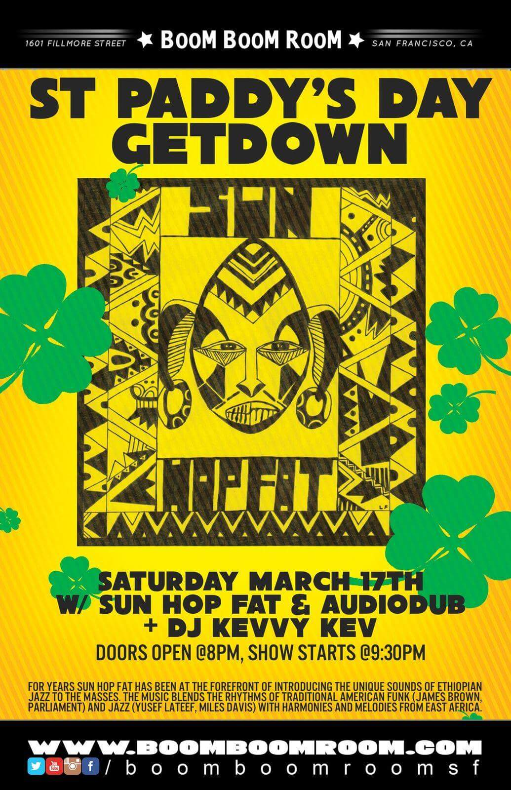 Sun Hop Fat St. Paddy's Get Down